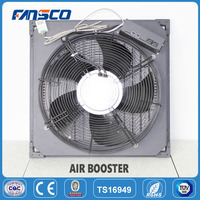 ADU4600 EC cooling fan assisted air booster with temperature controllor