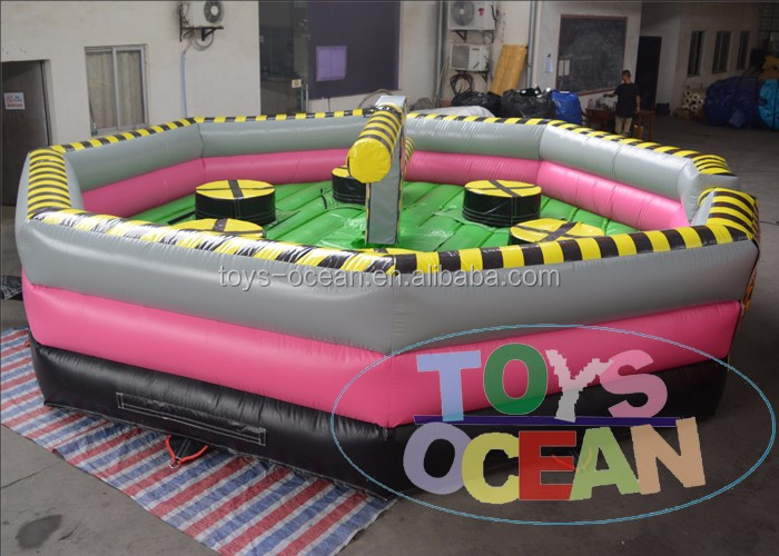 6x6m Inflatable Meltdown Game Eliminator Simulation For Sale