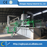 Henan Famous Jinpeng 30 Tons Capacity Continuous Waste Plastic Recycling to Fuel Oil Pyrolysis Machine