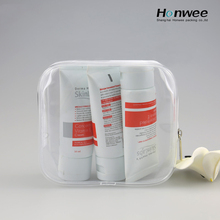 Pvc makeup bag pvc plastic packing bag bag with zipper for travel kit set/cosmetics