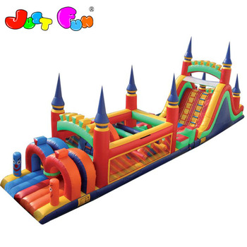 giant  inflatable obstacle course for kids n adults for larger events sale or rental