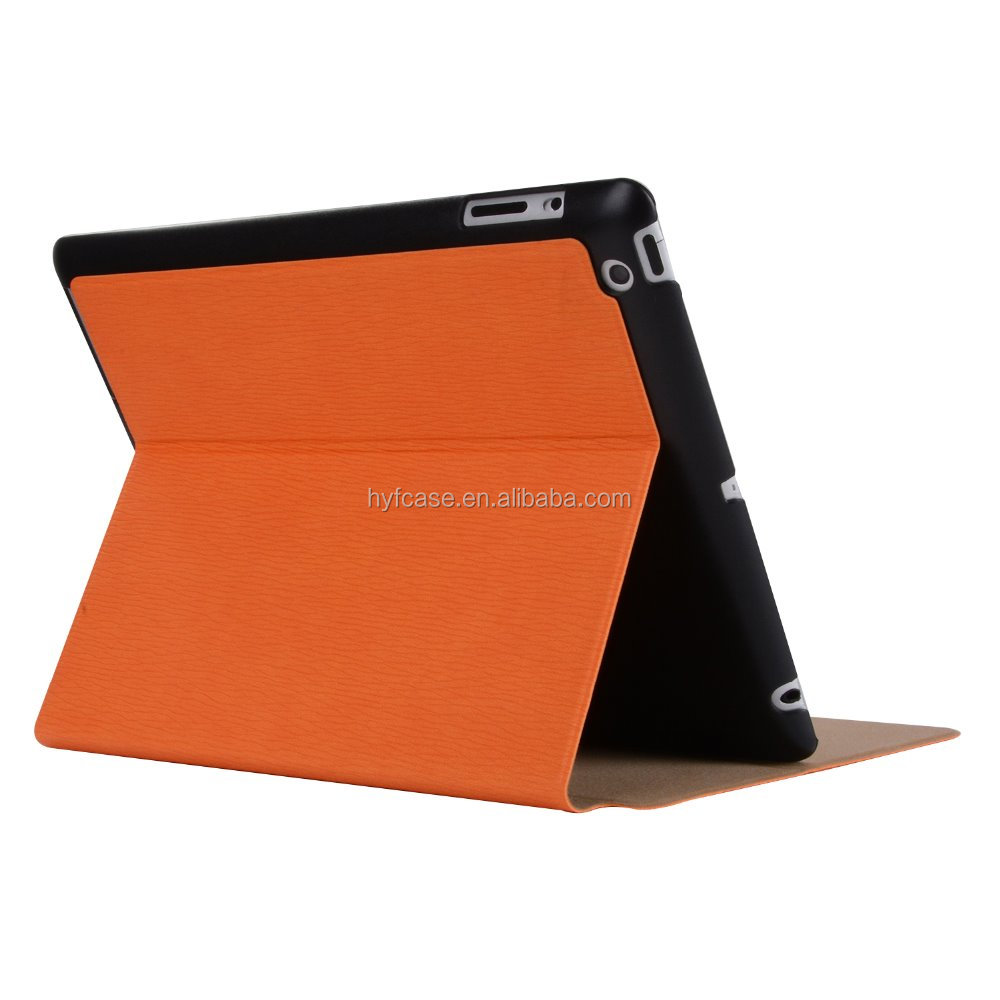 Colorful Smart Cover Case For iPad4/3/2 , for ipad leather case,tablet case for ipad3