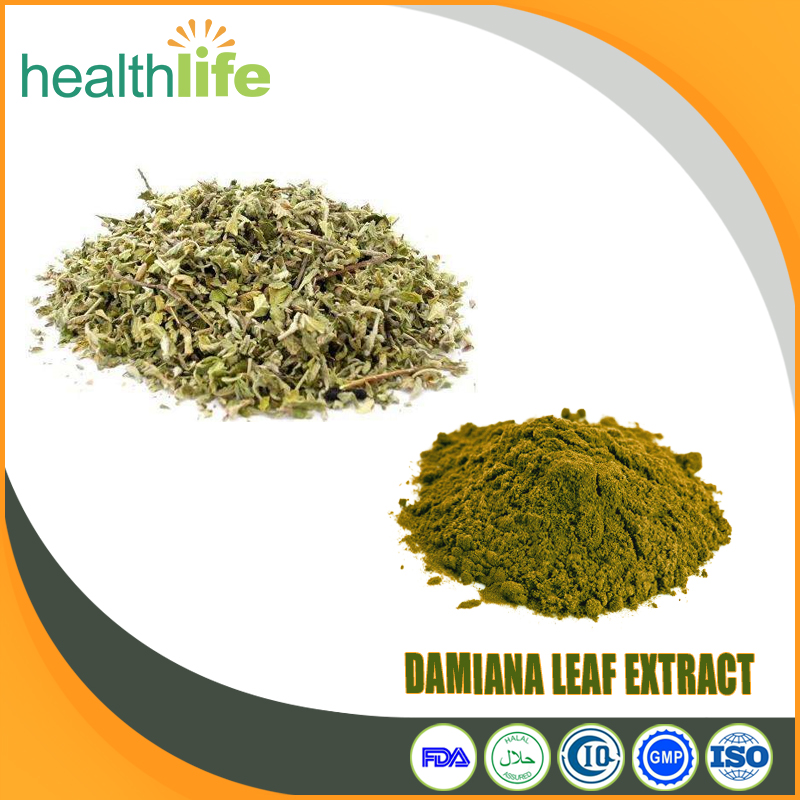 Natural Herb Sex Medicine Damiana Leaf Extract Powder