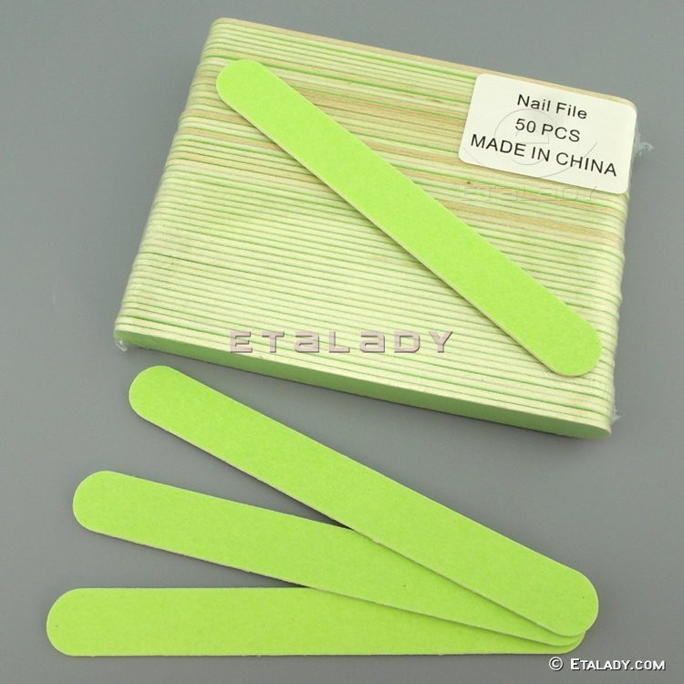 Premium Quality Disposable Green Small File And Mini Buffer Sets
