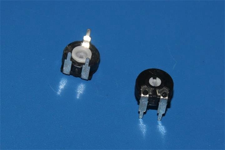 trimmer potentiometer 10k spanish potentiometer carbon 100 ohm trimmer potentiometer