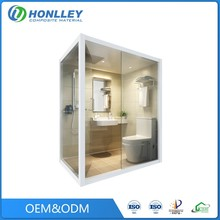 Honlley bathroom luxury flexible design home prefabricated, Canadian prefab homes guangzhou