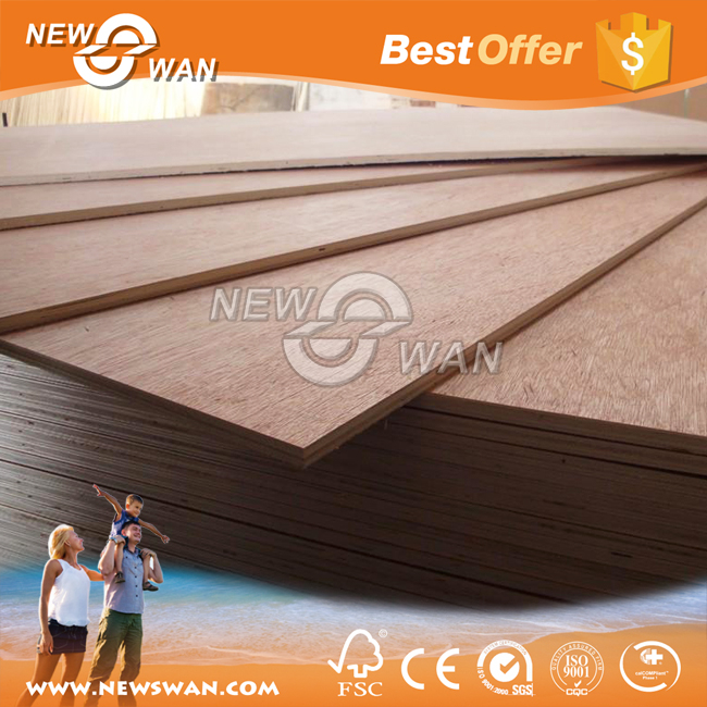 Commercial Plywood China Suppliers / Okoume, Bintangor, Birch, Poplar, Pine Wood Plywood