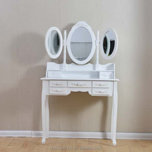 mirror dresser cabinet dressing table mirror with drawer