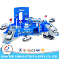 Good quality police play set die cast miniatures for kids