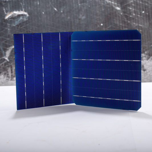 A grade 6*6 inch 4BB 20.2 % high efficiency Monocrystal solar cells 156x156 for solar panel
