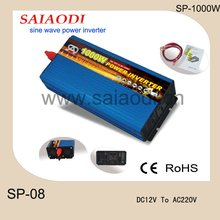 12v dc to 220v ac 1000w pure sine wave power inverter\/converter 1000w solar inverter