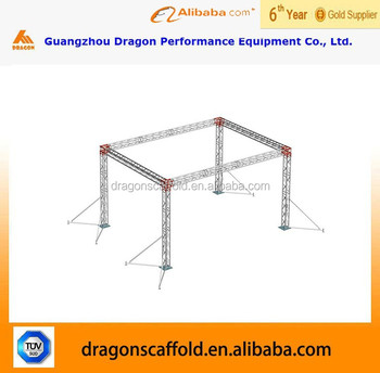 Cheap truss aluminum truss trade show booth buy cheap for Cheap truss systems