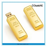 USB Flash Drive ,hotsales for promotion usb, gold bar usb drive