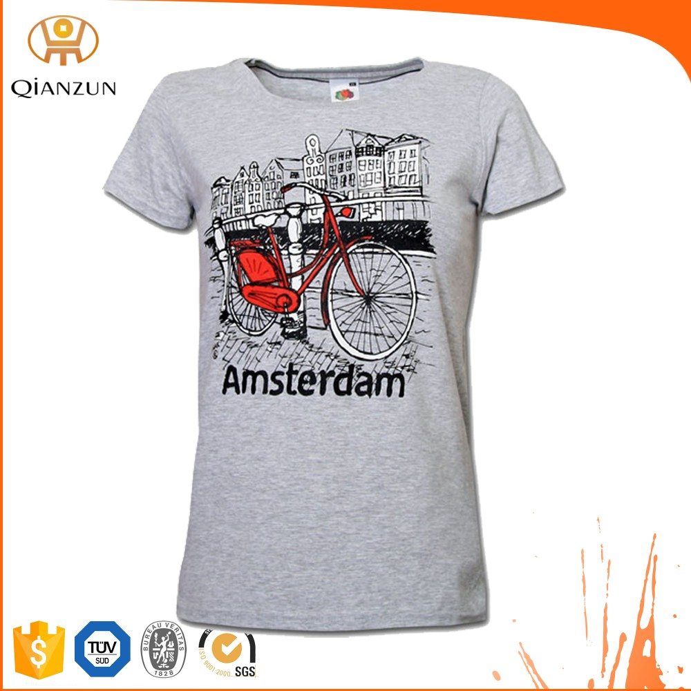Wholesale Custom Ladies T Shirt Print Design Buy Ladies