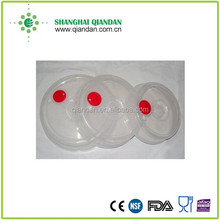 Plastic Microwave Plate Cover Spatter Guard with Steam Vented Clear Lid