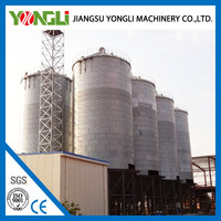 Hot Sale Plastic Pellet Silo With Cone Bottom