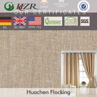 2015 hot sale hotel curtain fabric polyster taffeta print blackout fabric