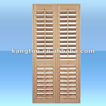 European style adjustable pine wood louver shutter buy for European shutters