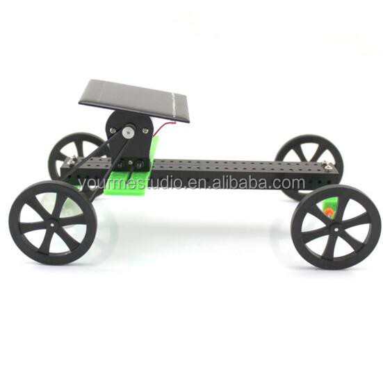 DIY Solar car toys Assembled educational material package