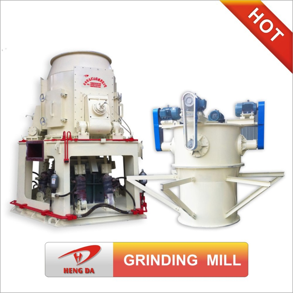 Artificial stone Vertical roller grinding mill, high production vertical roller grinding mill, Low vibration grinding mill