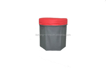 round foldable Storage Stool