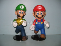 wholesale 21cm Super Mario doll gold ornaments Japanese anime action figure supplier