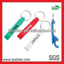mini lovely aluminum carabiner bottle opener keychain
