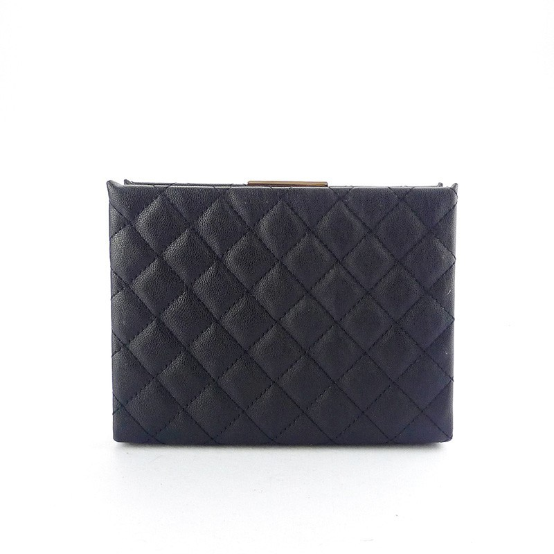 Handcee patent pu leather evening bag for special discount