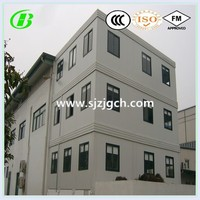 steel structure container house hotel from China factory