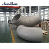 Chinese supplier stainless steel pipe fitting 90 degree butt weld big diameter elbow for sale
