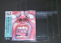 wholesale cheap custom printed clear self adhesive plastic CD DVD sleeve