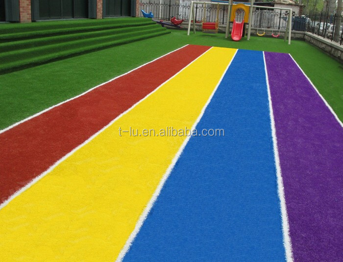 Wholesale Colorful Artificial Turf For Indoor And Outdoor Flooring