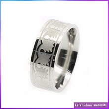 Ally Express Cheap Wholesale Ring Stainless Steel Etching Rings