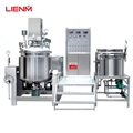 Cosmetic facial cream making machine vacuum homogenizer mixing machine