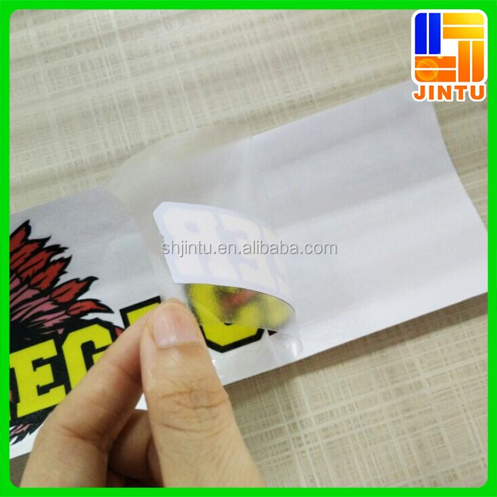 Peel Off Sticker Paper Easy Removed Vinyl Window Sticker Decals Removable