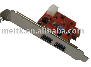 PCI-E USB3.0 card NEC Main chipset adapter card