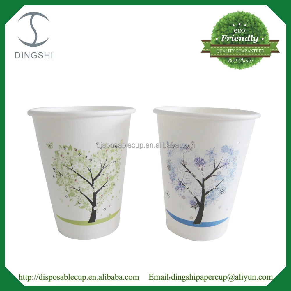 Custom printed disposable papercup