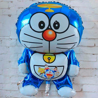 Tinker bell robot helium mylar balloon