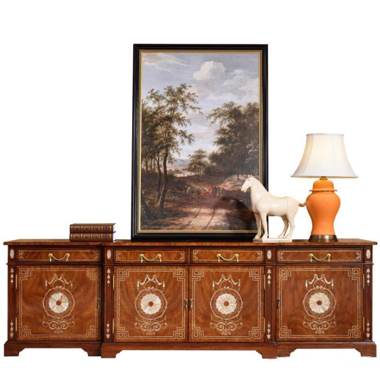 luxury <strong>antique</strong> <strong>style</strong> wood carved TV stand living room <strong>furniture</strong> solid wood beech <strong>antique</strong> TV stand