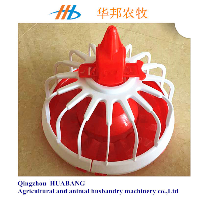 HUABANG high quality and cheap chicken feeders /broiler feed pan for sale