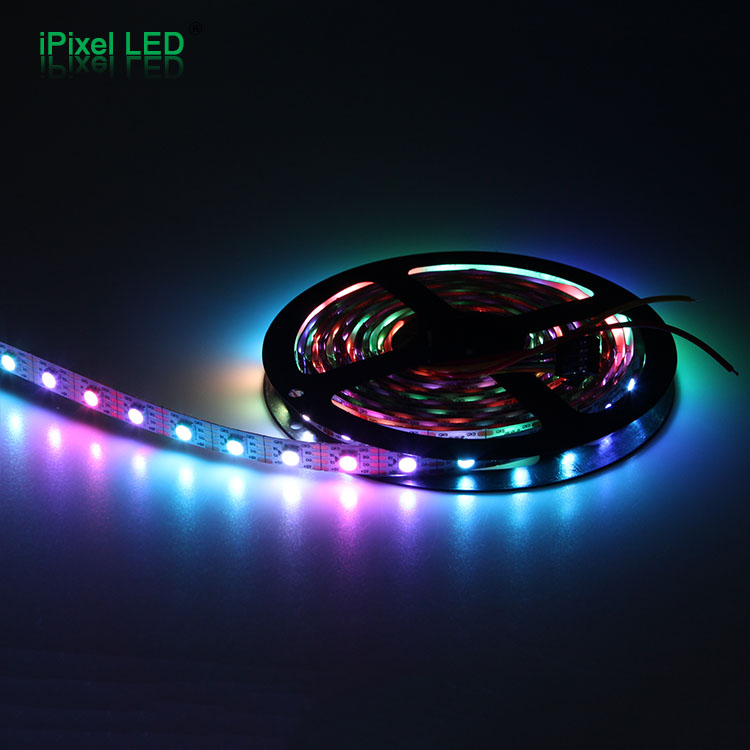 Magic rgb 5050 smd led strip light strip lighting led rgb, led tape 60leds programmable lights, led strip 2813