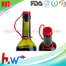 keep fresh anti-dust airtight silicone screw bottle stopper