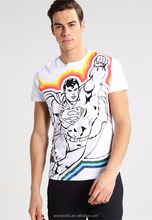 Custom print men 3D print tshirts t shirts wholesale