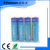 1.5V AA 2800mWh Li-ion Li-polymer bty nimh small rechargeable battery