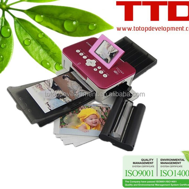 TTD Ink Cartridge KP-108in for Canon SELPHY CP760 (3 ink + 108Sheet Photo Paper)