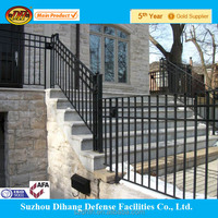stainless steel railing parts /railings concrete stairs ISO9001 Factory2