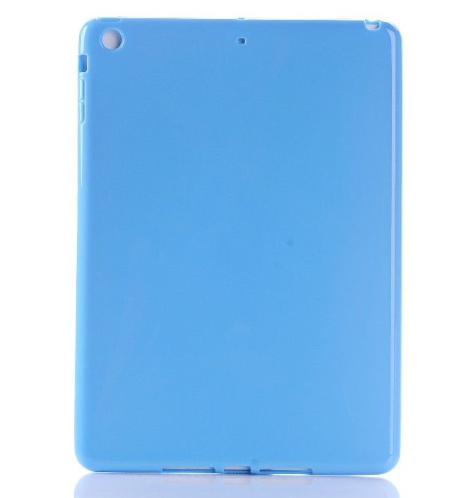 For Ipad air Colorful Slim Anti-Dust TPU Soft Back Cover Shell Case