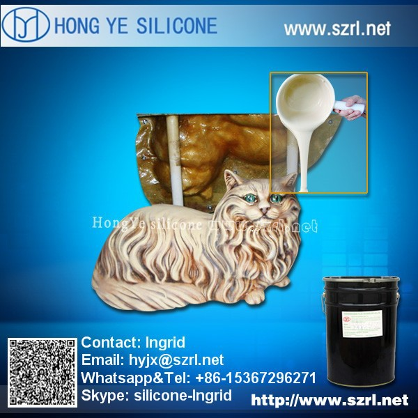 liquid silicone rubber for fountain crafts molds making