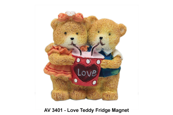 Love Teddy Fridge Magnet