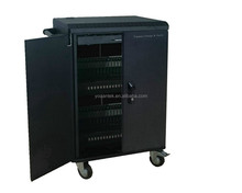 40 Port Tablet/Ipad/Mobile Intelligent Storage Educational Charge Sync Trolley/Cart/Cabinet For Education